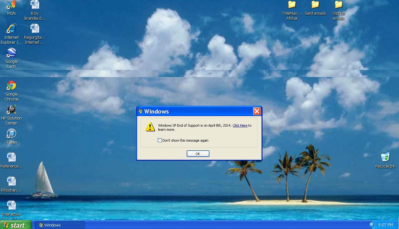 Death of Windows-XP